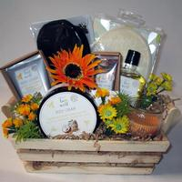 Honey Coconut Pamper Gift Basket