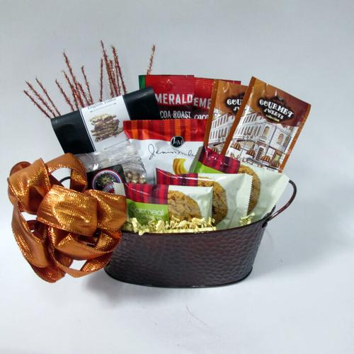 Copper Collection Gift Basket