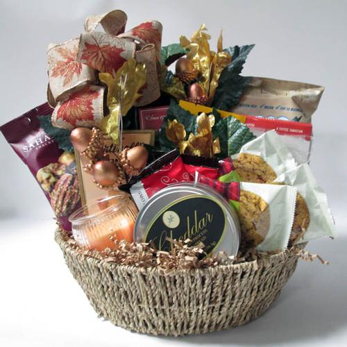 Fall Fiesta Gift Basket