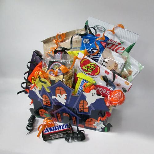Halloween Haunted House Gift Box