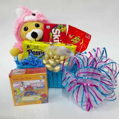 Easter Bear Basket