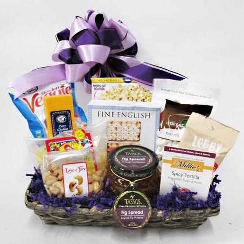 Healthy Snacker Gift Basket