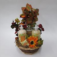 Pumpkin Spice Bath Hand and Body basket