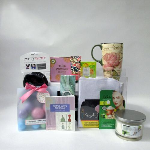 Mommy and Me Gift Basket Stack