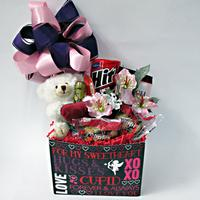Hugs and Kisses Gift Basket