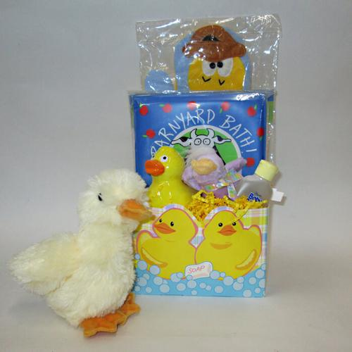 Just Ducky Baby Basket