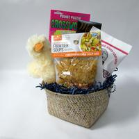 Soup and Quackers Get Well Basket