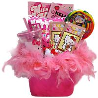 Hello Kitty Gift Basket