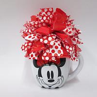 Minnie Mouse or Mickey Mouse mug