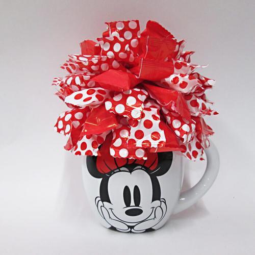 Minnie Mouse Stuffed Gift Mug Mickey Mouse
