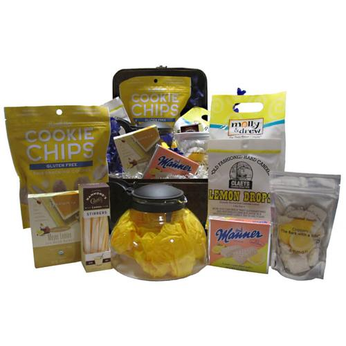Lemon Tea Time Gift Basket