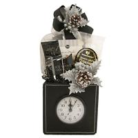 Holiday Time Clock Gift Basket