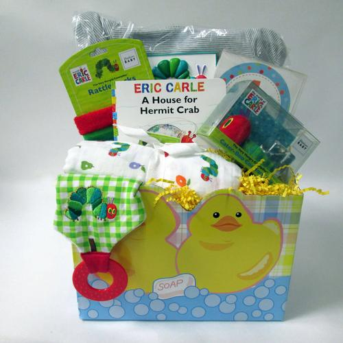 Completely Carle Baby Gift Basket