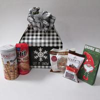 Let it Snow Holiday Gable Gift Box