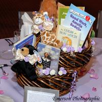 Bears & Books Bat Mitzvah Centerpiece