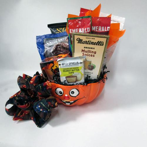 Hello Halloween Gift Basket